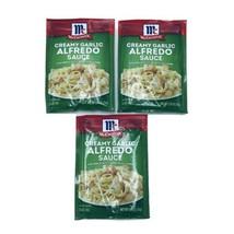 3 McCormick Creamy Garlic Alfredo Sauce Mix 1.25 oz Each New Exp 5/22 - $19.99