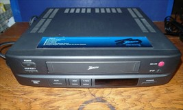 Zenith VCR VRM4120 VHS player recorder Tested works! No remote.  - $25.00