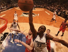 ANDREW WIGGINS AUTOGRAPHED HAND SIGNED MINNESOTA TIMBERWOLVES 11x14 PHOT... - £147.13 GBP