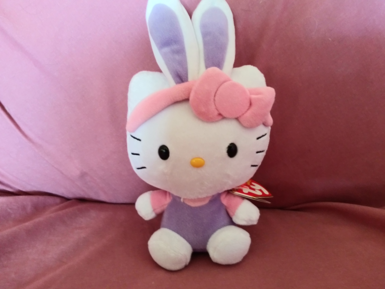 Hello Kitty Easter Bunny Ears Plush Toy - $12.00