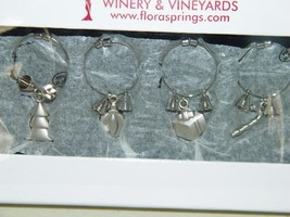 Flora Springs Winery & Vineyards Christmas Wine Charms Drink 14602 - $9.81