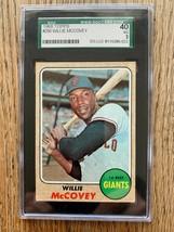 1968 Topps Willie McCovey #290 - SGC VG - $49.45