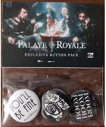 Palaye Royale Exclusive Button Pack, new - $8.95