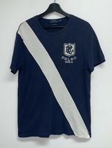 Polo Ralph Lauren Mens Custom Fit Crewneck T-Shirt Size L Short Sleeve N... - $24.99