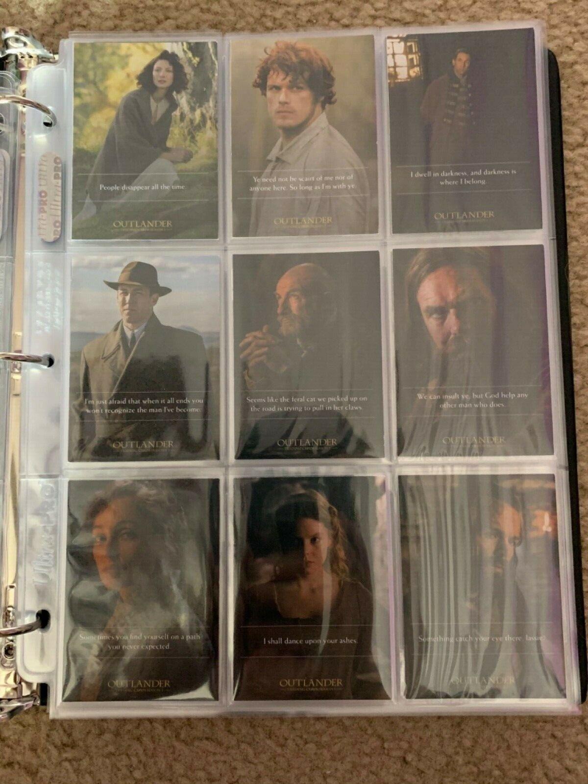 Outlander Season 1 Binder Wardrobe M37 B1 Promo Chase Base image 8
