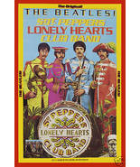 The Beatles *Sgt. Pepper* Capitol PROMO Poster 1967 LARGE 24x36 - $34.00
