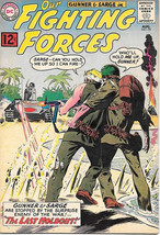 Our Fighting Forces Comic Book #70 Gunner and Sarge, DC Comics 1962 FINE+ - $45.39