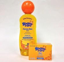 RICITOS DE ORO✅  Shampoo Honey 13.5oz. + Honey Soap 3.5oz - $14.50