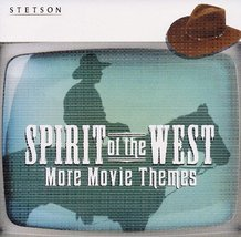 Stetson Spirit of the West More Movie Themes [Audio CD] The Silver Scree... - $9.87