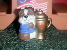 Hallmark Merry Miniature Dog fits Fisher Price Loving Family Dollhouse Dolls - $2.99