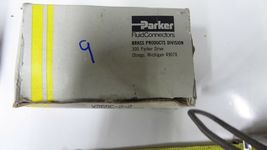 Parker 269C-2-2, X269C-2-2 Compression x MNPT Brass Extended 90° Elbow Pack of 4 image 3