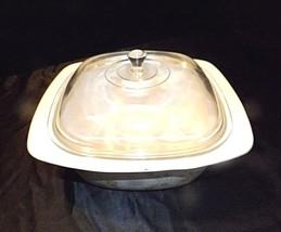 CorningWare Serving Dish and Lid AB 249-A Vintage image 2