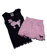 Pink Poodle Top and Skort Set by Pickle Juice Size 5/6 - $20.00