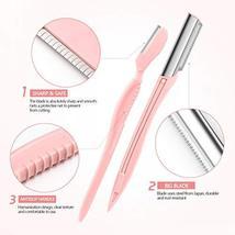 Lurrose Eyebrow Razors Shavers, Facial Hair Trimmer for Women and Men, Multipurp image 3