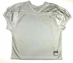 Nike Short Sleeve Core Practice Mesh Football Game Jersey Men's XL Gray ... - $16.08
