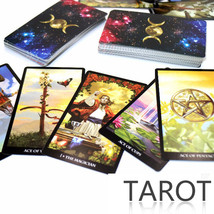 Mythic Tarot Deck 78 Cards - Instruction Book with QR Code Scan Size 97m... - $14.95
