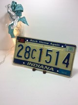 Vintage Indiana License Plate -  - Single Plate 1990 - $16.82