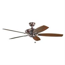Kichler 300188OBB Tulle Ceiling Fans 60in Oil Brushed Bronze  - $329.00