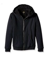 Lee Boys Big Fleece Hoodie, Black Dye, Medium - $10.69