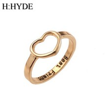 H:HYDE Best Friends Love Shape Charm Ring Anel Feminino Midi Mid Pikine ... - €8,75 EUR