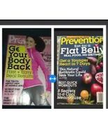 set of 2 prevention magazines back issue feb 2015 & feb 2014 - $14.99
