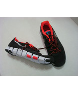 New Mens Nike Running Shoes Training Black Orange Red Silver 10 Casual S... - $115.00