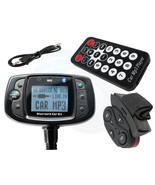 Car Kit Bluetooth MP3 Player FM Transmitter Mobile Phone Hands Free - $27.71