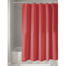 InterDesign Fabric Shower Curtain, Water-Repellent and Mold- and Mildew-... - $11.28