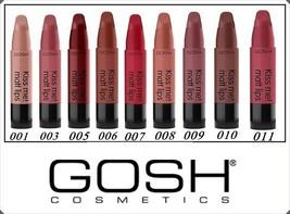 NEW  Gosh Kiss Me Matt Lips Satin Colour Long Lasting Different Shades - $10.99