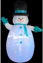 Christmas 12FT Airblown Inflatable Jolly Snowman Yard Decoration Outdoor... - ₨11,852.68 INR