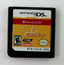 DS American Girl: Julie Finds a Way (Nintendo DS, 2007) Cart Only Tested - $5.95