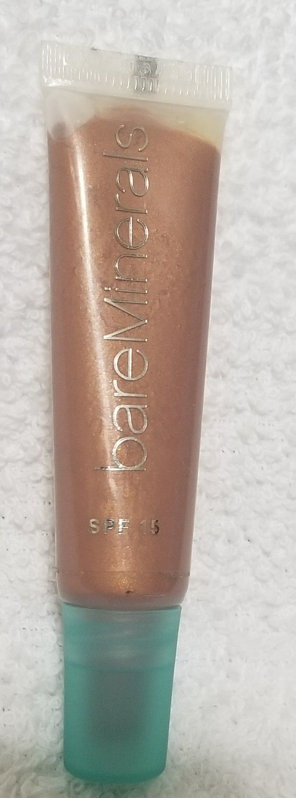 BareMinerals Bare Escentuals SPF 15 FIJI Lip Gloss Women .33 oz/10mL New Sealed