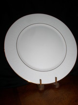 """Lenox Debut Collection Hannah Gold Bone China Dinner Plate 10 7/8"""" - $25.95"""