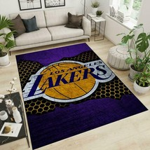 Los Angeles Lakers Inspired Rug Home Living Decor Sport Decor Gift For Fans - $40.99+