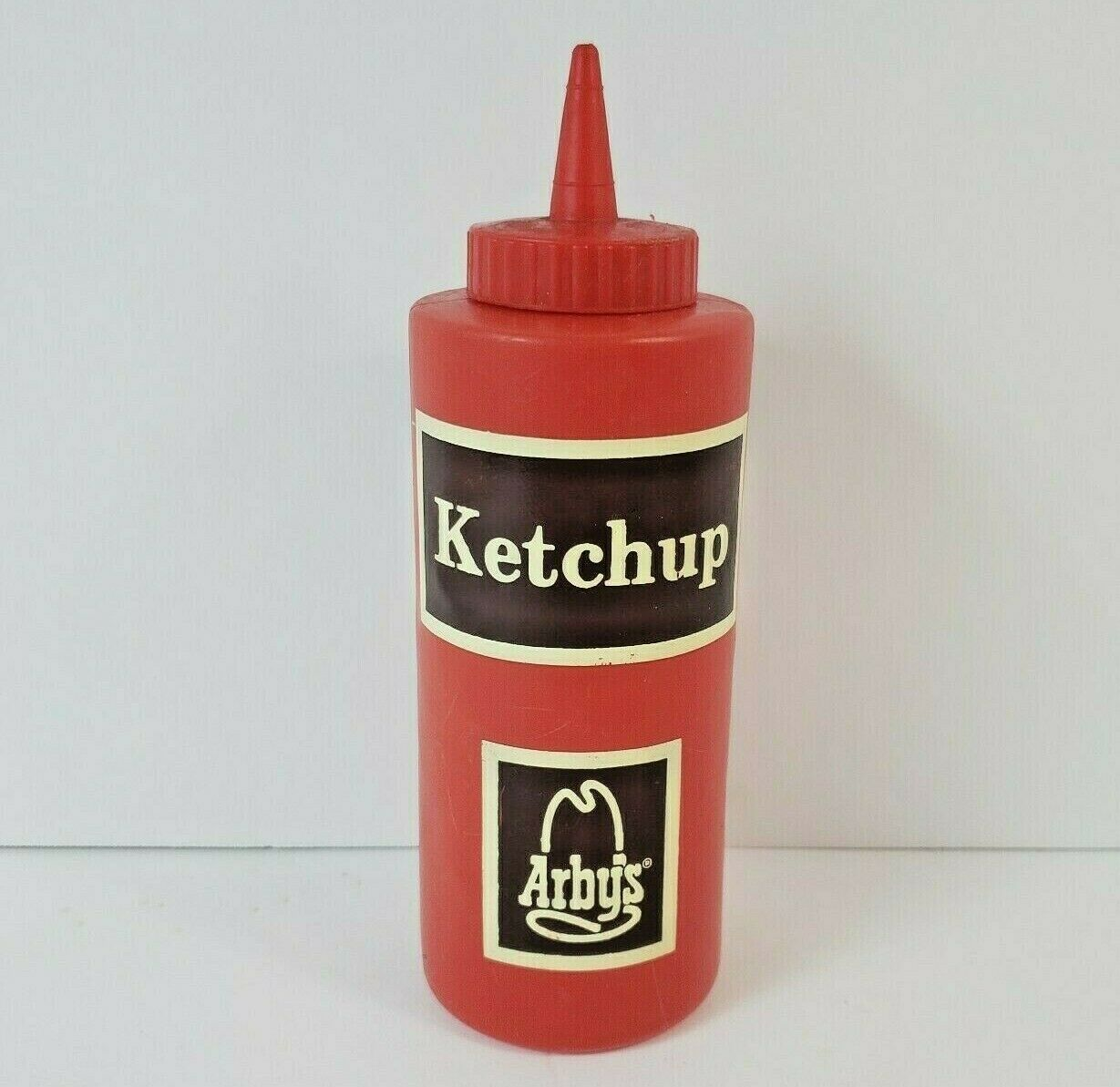 "Vintage Arby's Ketchup Squeeze Bottle - 1970's - Advertising - 7.5"" Tall"