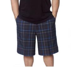 Men's Kirkland Signature Performance Golf Shorts, Eclipse Blue Plaid, 36W - $29.69