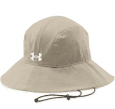 Under Armour ARMOURVENT WARRIOR BUCKET Cap SUN FISH HAT BOAT Adult Khaki... - $27.72