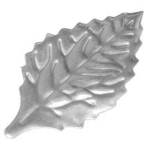 "2 1/8"" Silver Rose Foil Leaves - $1.05+"