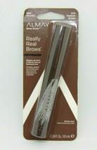 ALMAY BROW STYLER Really Real Brows 020 Medium Brown 0.29oz/8.5ml NIP - $6.88