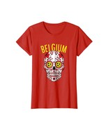Halloween Shirts -  Belgium World Calaveras Shirt Belgique Team Flag Cup... - $19.95+