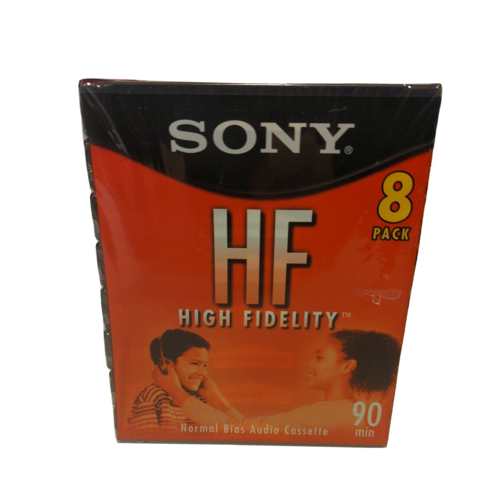 8 Pack New Sony HF High Fidelity 90 Minute Blank Audio Cassette Tapes - $17.99