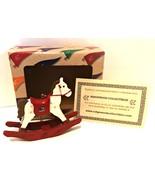University of Alabama Rocking Horse Christmas Ornament Ridgewood Collect... - $24.74