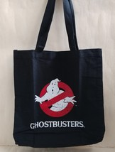 New Ghostbusters Special Book Appendix Vintage Style Black Big Tote Bag - $16.99