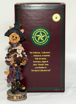 Boyd's Bears * SALEM...GIVE THANKS * Folkstone Collection, Thanksgiving,... - $11.99