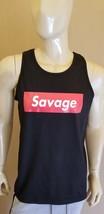 21 Savage Black  Tank Top Mumble Rao DJ Concert 6 AAA Drake Malone Lil - $17.99+