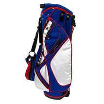 AVC Red White & Blue America USA 14 Ways Golf Cart-Friendly Stand Bag, Rain Hood image 3