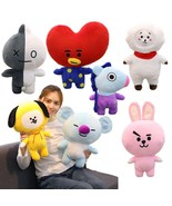 25/35/45cm Bangtan Boys BTS Bt21 Plush Toy Stuffed  Pillow Cushion Kid P... - $11.37+