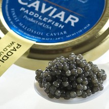American Paddlefish Caviar - Malossol - 5.3 oz, glass jar - $129.92
