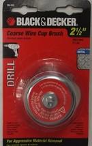 """Black Decker 70-113 2-1/2"""" Coarse Wire Cup Brush - $2.97"""