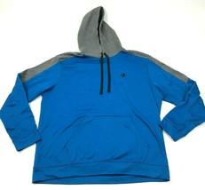 CHAMPION Hoodie Sweater Men's Size Extra Large XL Loose Blue Sweatshirt ... - $27.33